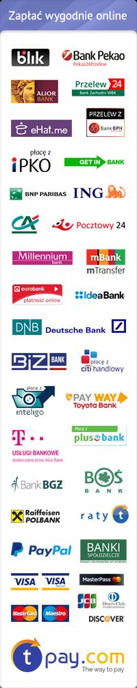 Zapłać wygodnie online za pomocą szybkich płatności internetowych tpay.com