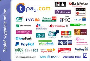 Zapłać wygodnie online za pomocą szybkich płatności Tpay.com