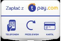 Płatności obsługuje tpay.com